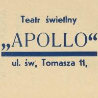 """9. Kolekcja ulotek kin """"Apollo"""" i """"Sztuka"""" w Krakowie"""